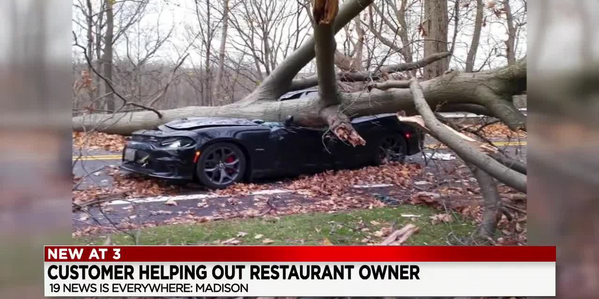 Fundraiser will be held for Madison restaurant owner who was injured after tree crushed his car