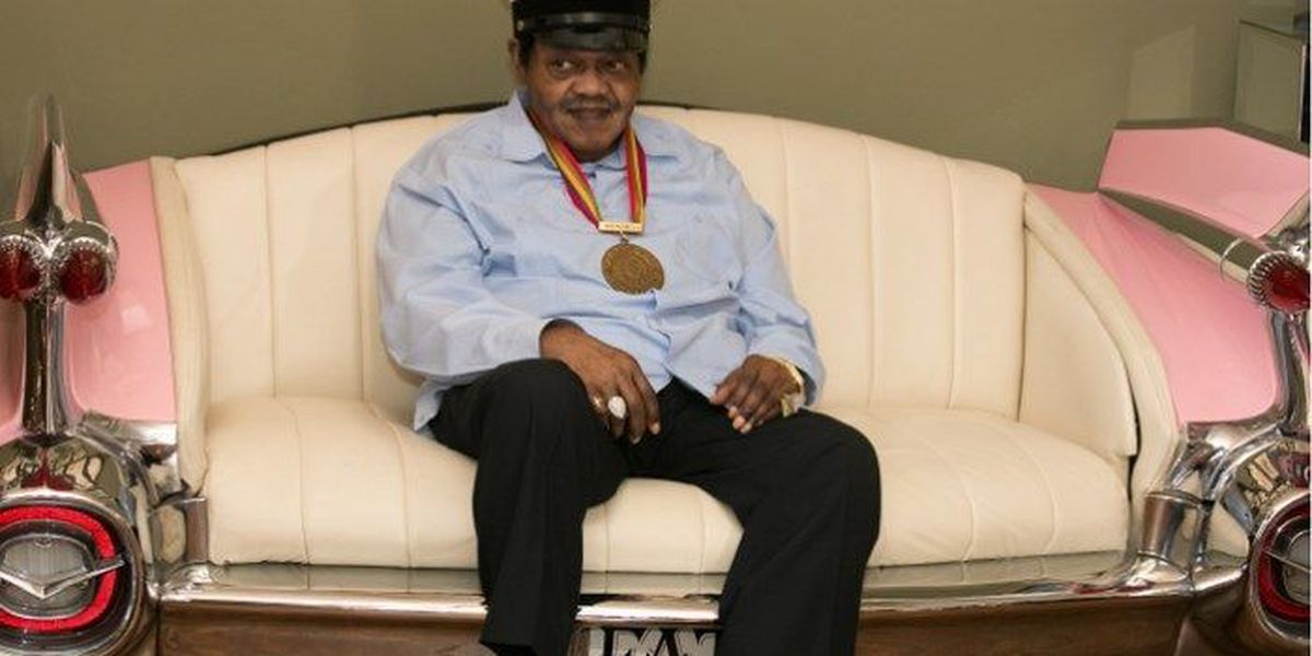 Fats Domino was in the first class of the Rock & Roll Hall of Fame