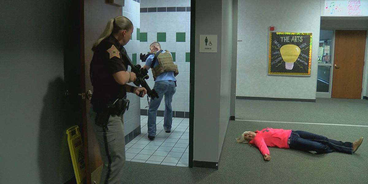 Westlake Police participate in active shooter drill in preparation for daunting 'new normal'