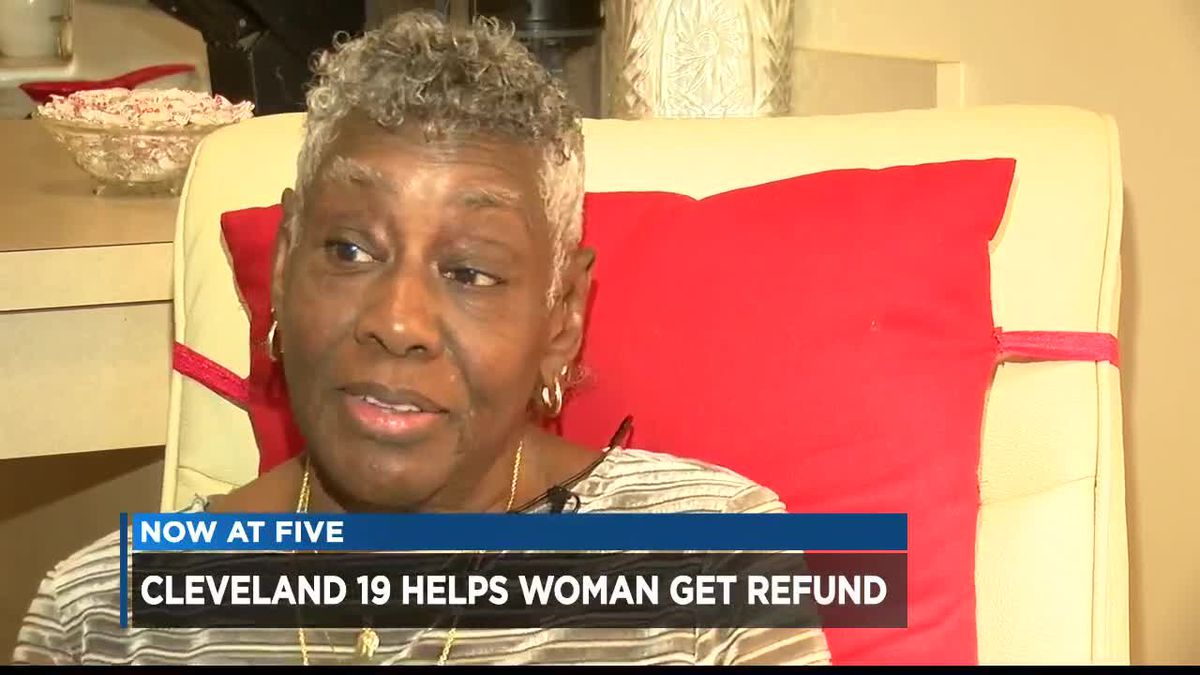 Insurance company hand-delivers refund check to 81-year-old woman after Cleveland 19 investigation