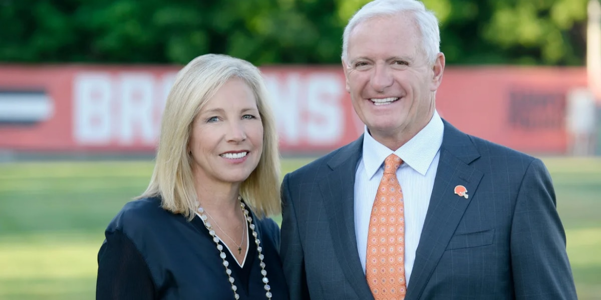 Cleveland Browns owners Dee and Jimmy Haslam pledge $1.5M to coronavirus relief efforts in Ohio
