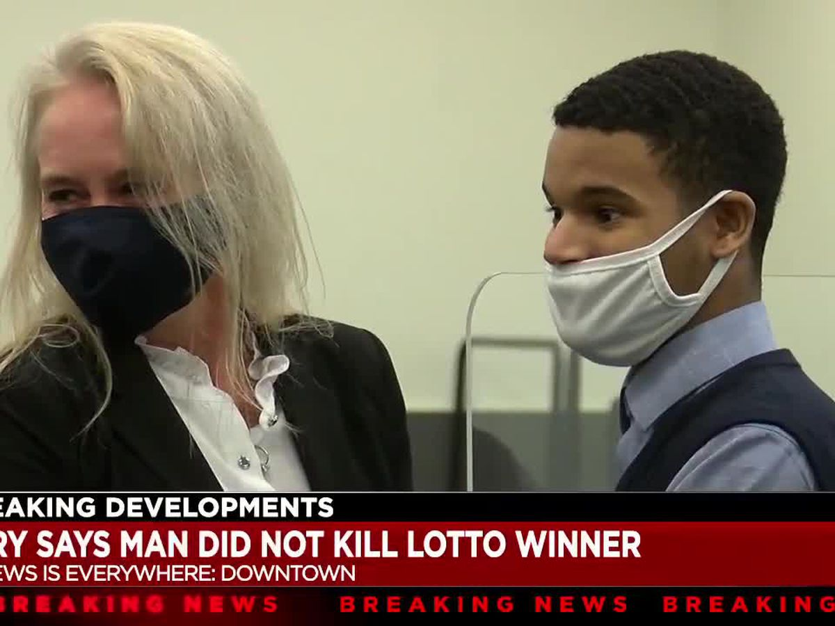 Jury finds Cleveland man not guilty of killing a lottery winner