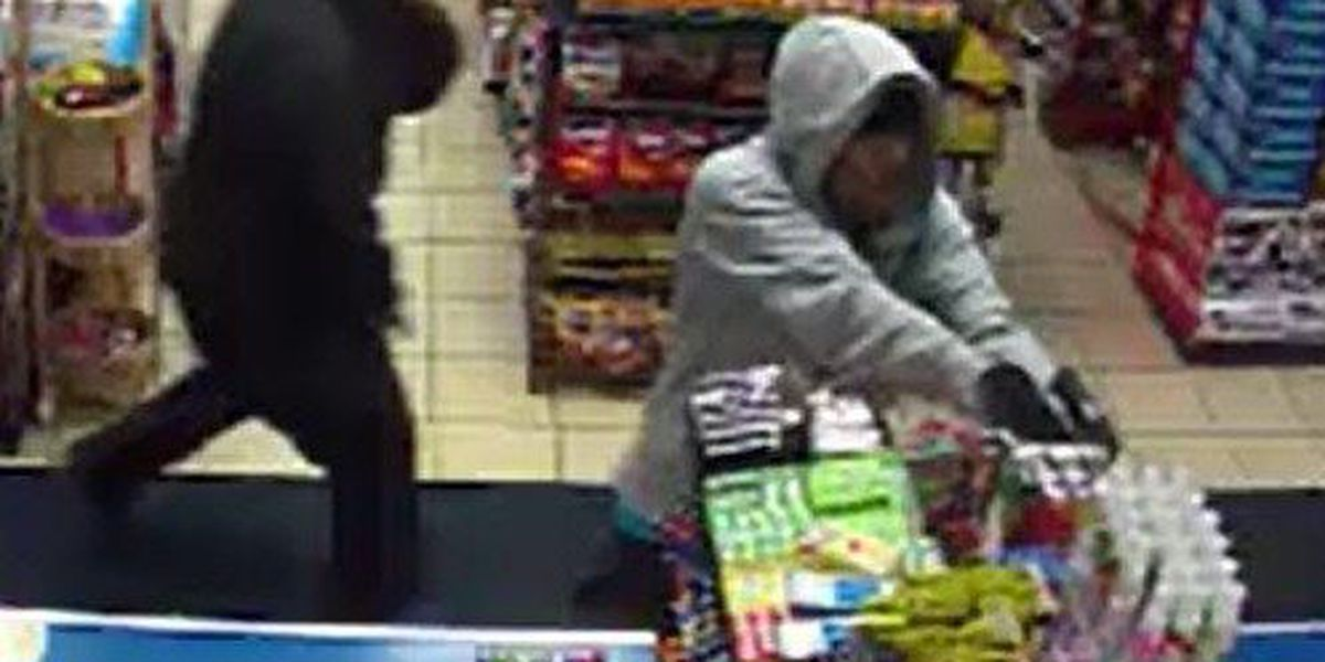 WATCH HERE: 4 gun-toting thieves caught on video robbing convenience store