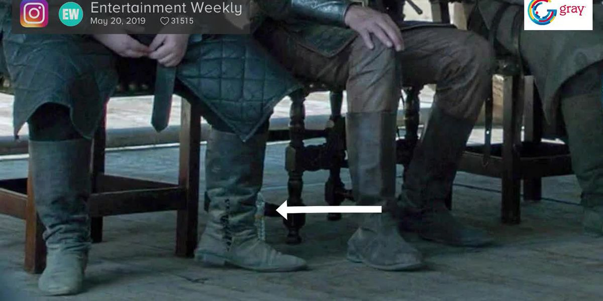 Fans spot modern day water bottles on 'Game of Thrones' finale
