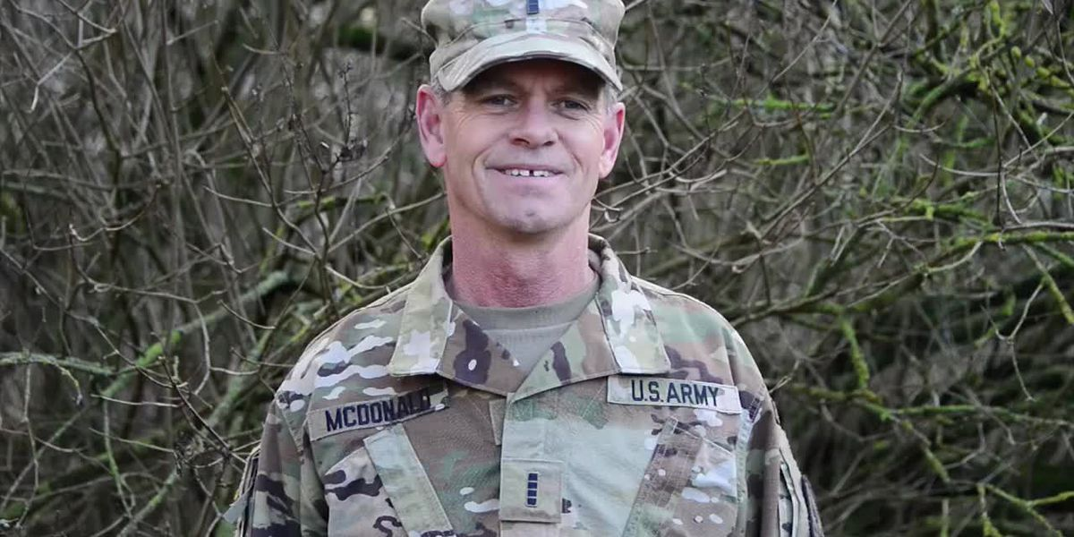 U.S. Army Chief Warrant Officer 4 Rodger Mcdonald