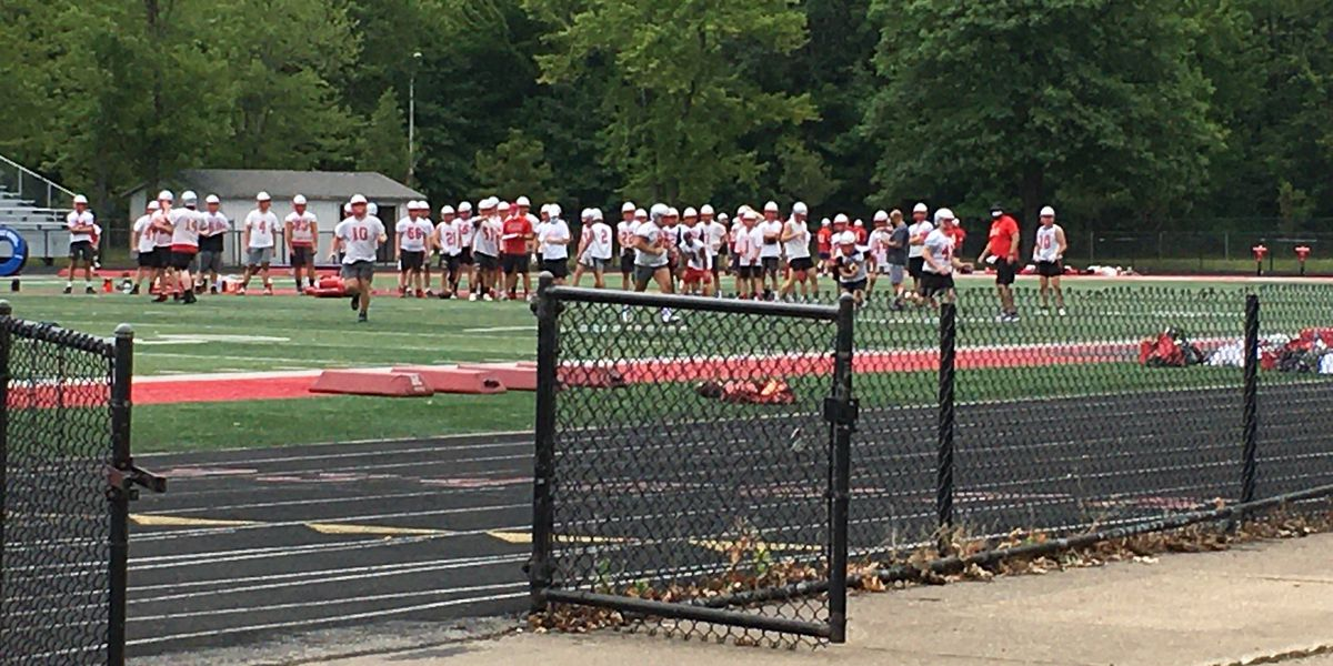 Mentor football back on the field for practice amid coronavirus crisis