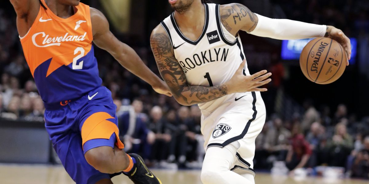 Russell scores 36, Nets outlast Cavaliers 148-139 in 3OTs