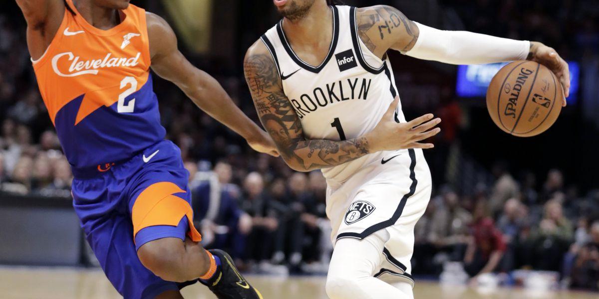 Russell scores 36, Nets outlast Cavaliers 148-139 in 3OTs