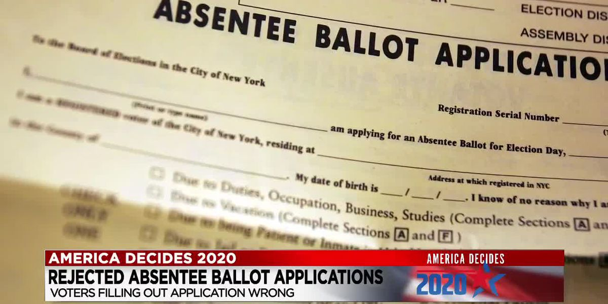 Absentee ballot application rejected? Here are your options to vote