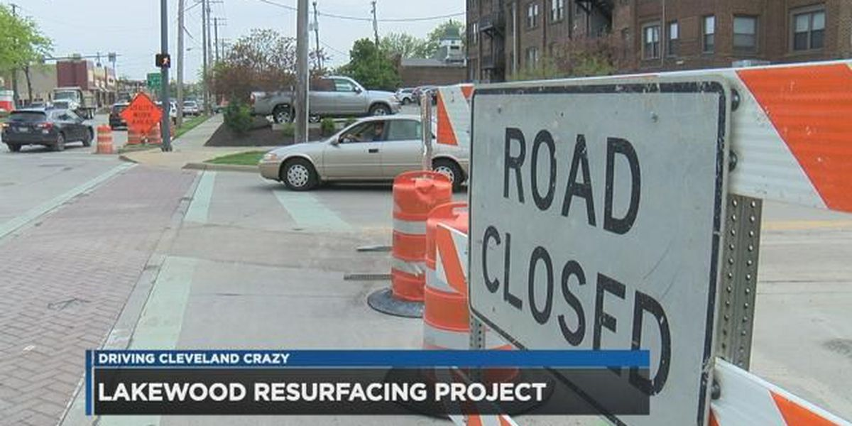 Lake Avenue repaving, detours could impact driver sanity in Lakewood