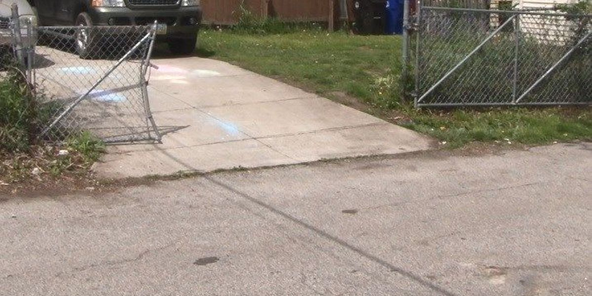 Boy, 4, takes car for joyride; Stopped by fence