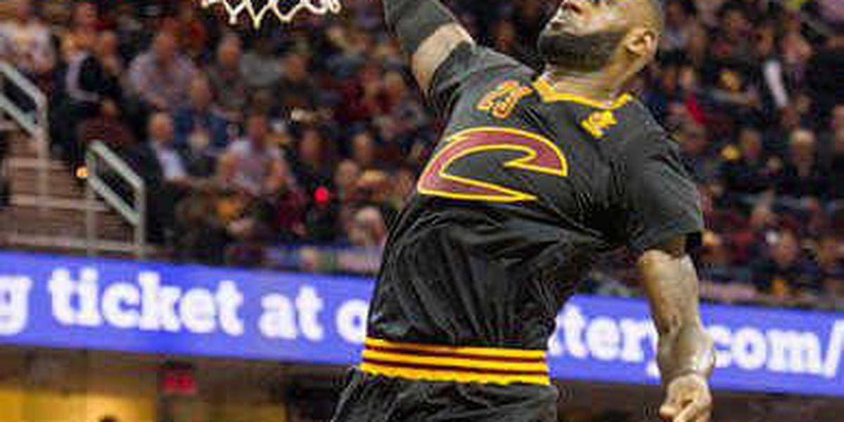 LeBron James, Kyrie Irving lead Cavaliers past Magic, 105-99