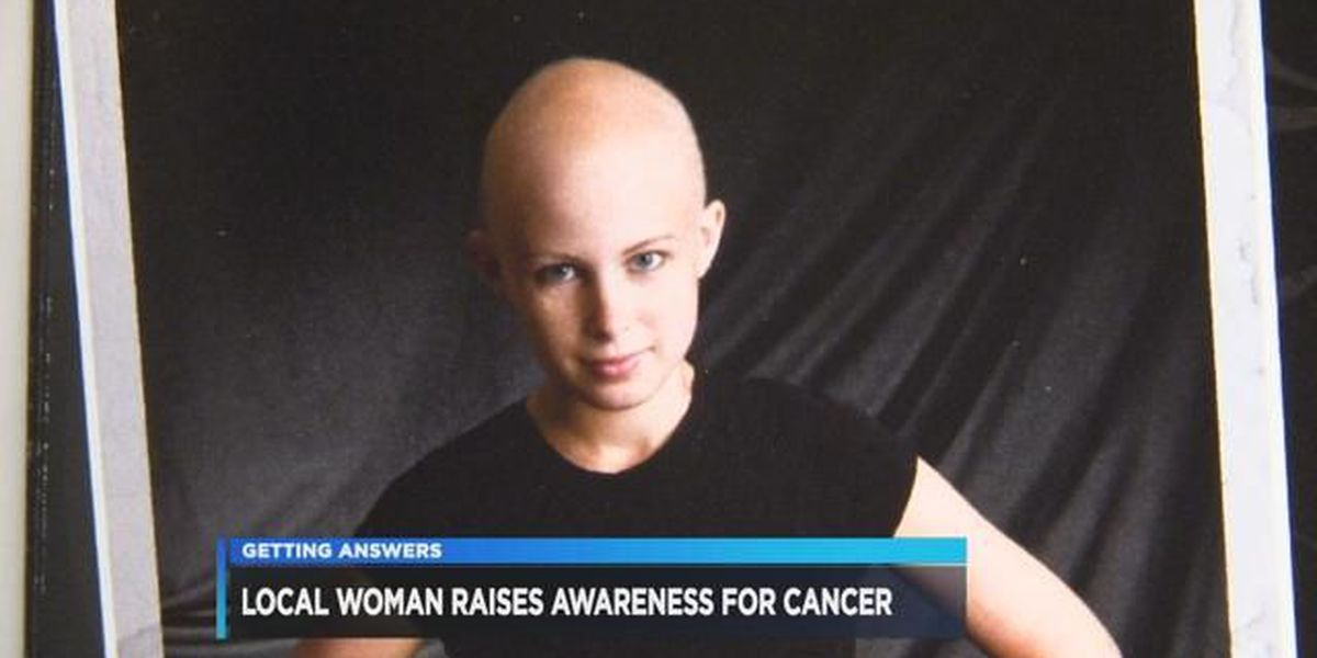 Area woman raising cancer awareness