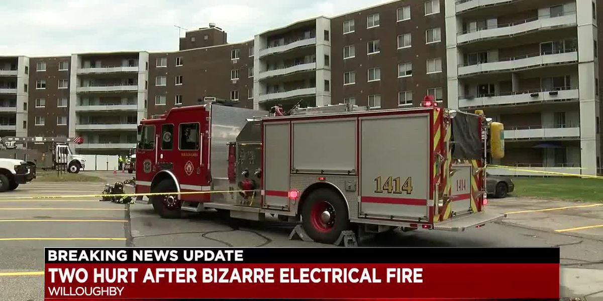 2 hurt more than 100 people displaced following Willoughby apartment fire