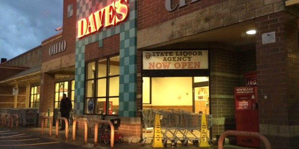 Stolen vehicle abandoned after Dave's Supermarket smash-and-grab