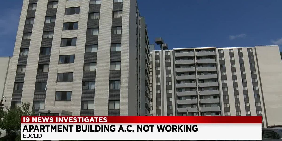 UPDATE: 19 News helps Euclid Hill Villa tenants get A/C switched on