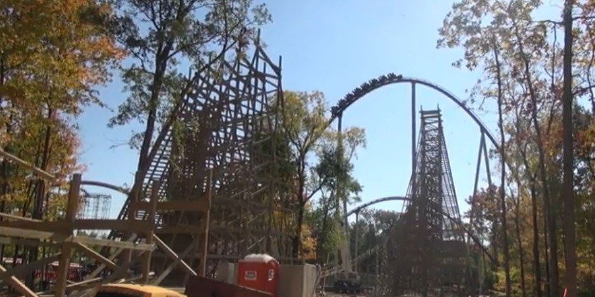 New roller coaster on the rise at Kings Island