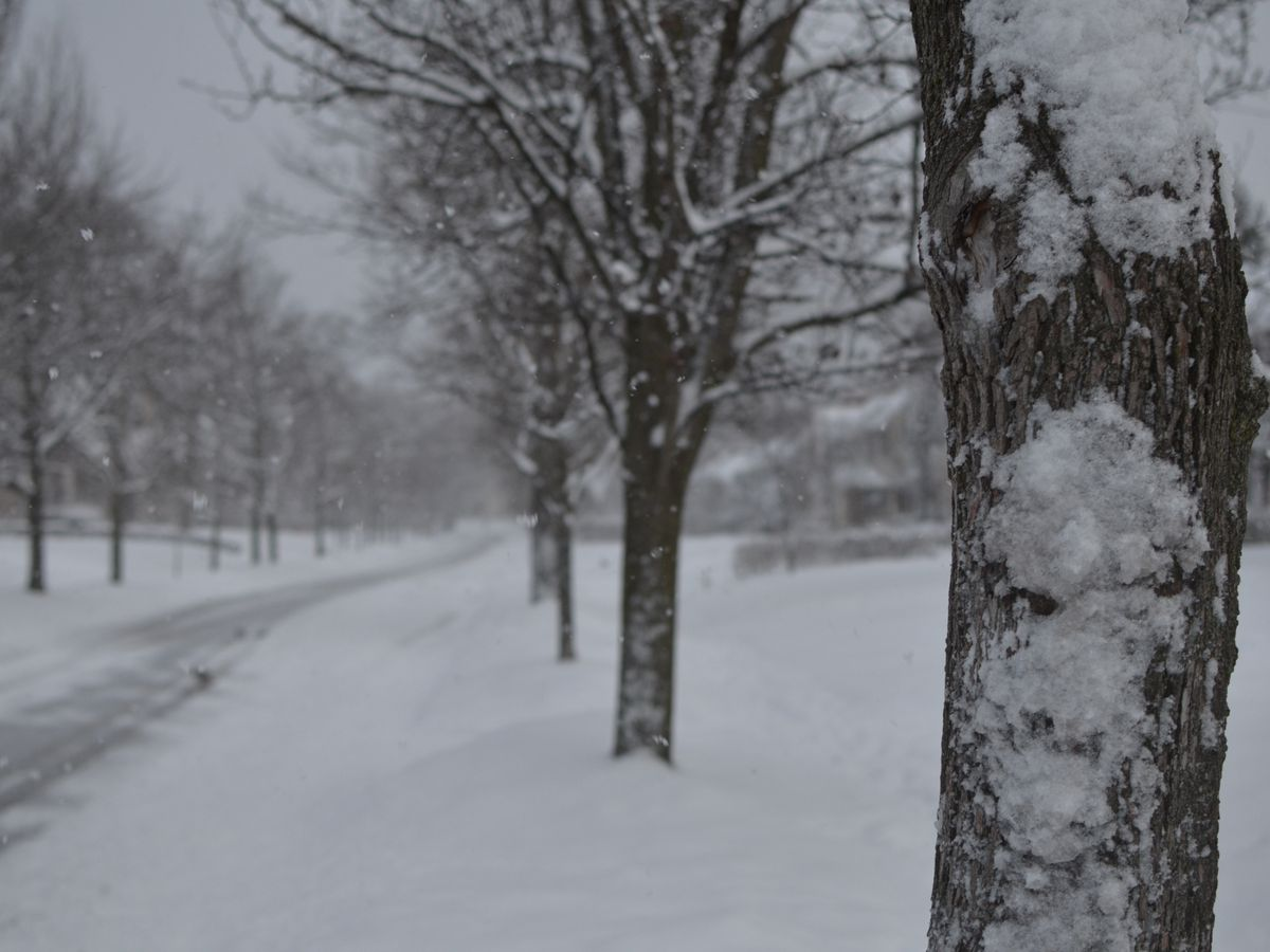 Snow totals: 10 inches of snow or more measured on the ground in parts of Northeast Ohio