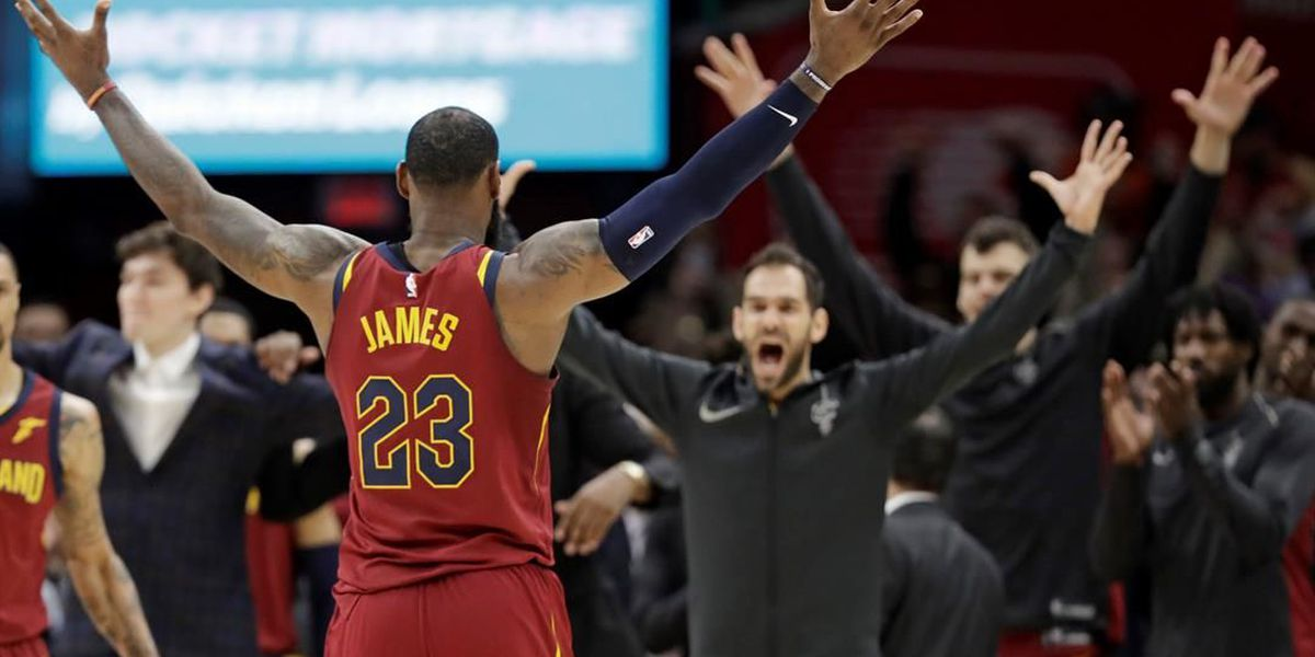 The Cleveland Cavaliers sweep the Toronto Raptors in Game 4