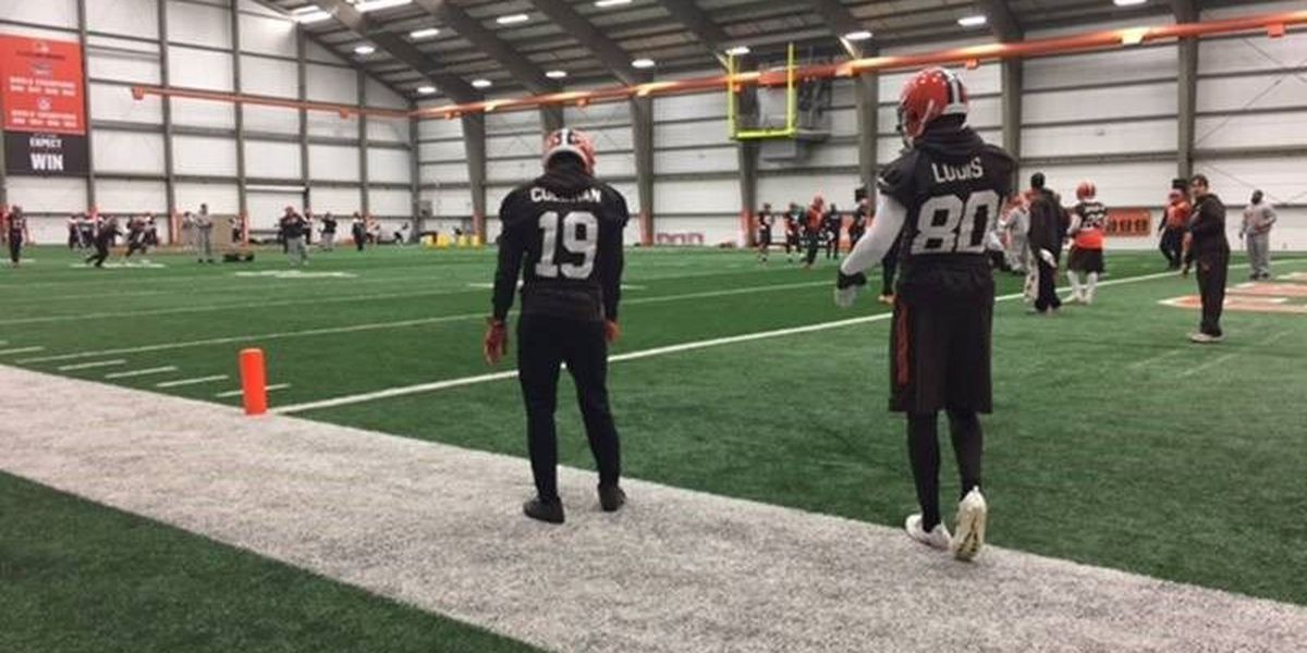 Browns WR Corey Coleman not indicted on assault accusations, 2 others charged