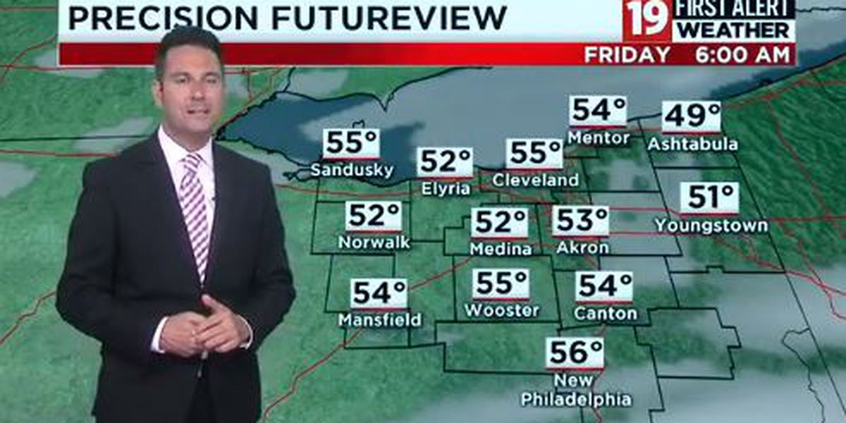 Northeast Ohio weather: Cloud cover most of Thursday