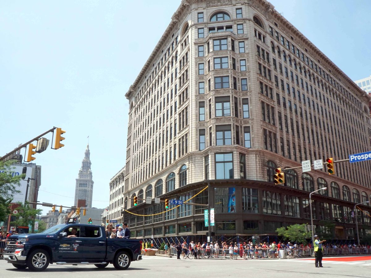 Assault, theft and drunkenness reported downtown during MLB All-Star Week, as shootings and murders plagued Cleveland's East Side