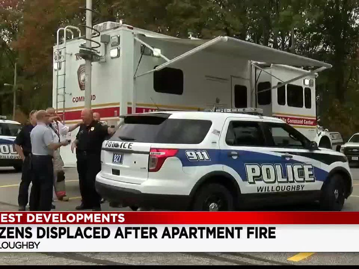 Fire at Pine Ridge Apartments forces hundreds to find temporary housing