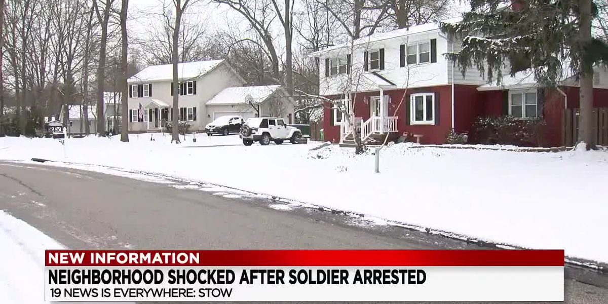 Stow residents stunned following arrest of U.S. serviceman for terrorism charges