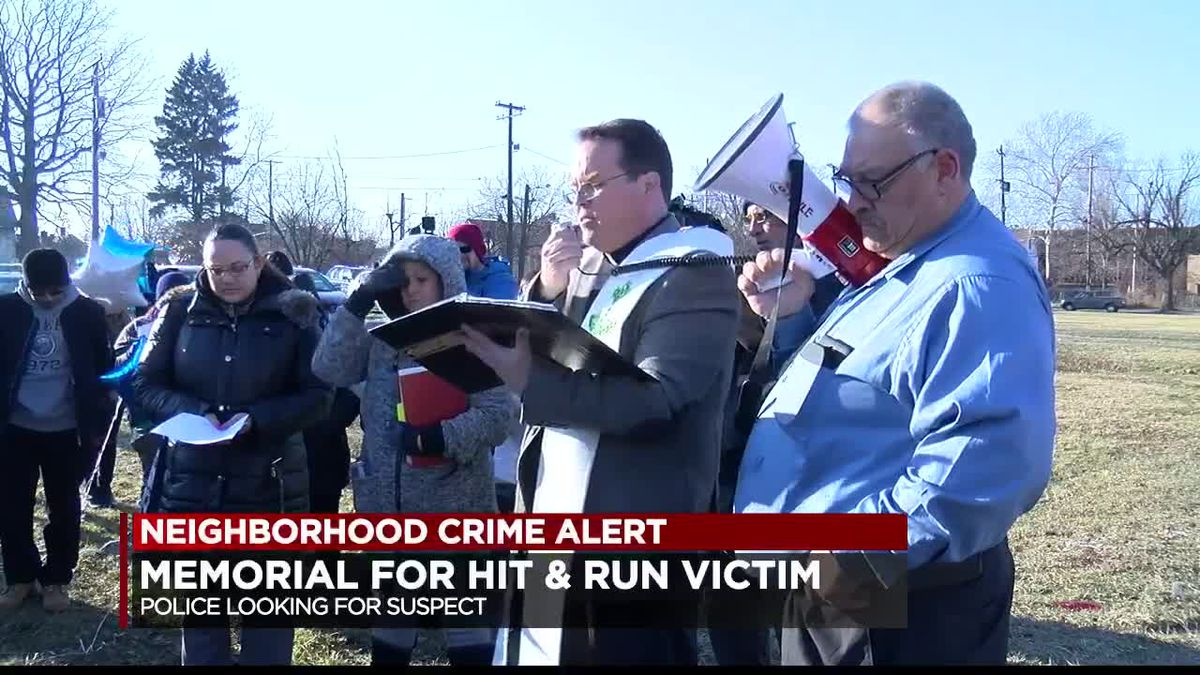 Memorial held for Cleveland man killed in front of wife by hit-and-run driver