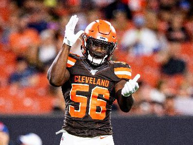 Browns elevate LB Willie Harvey to active roster; Christian Kirkey placed on injured reserve