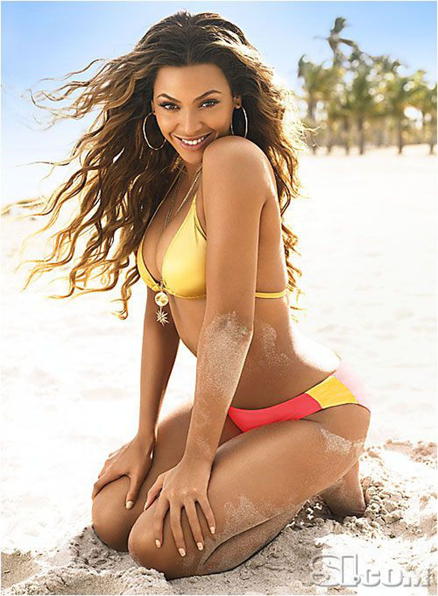 21+ Beyonce Sports Illustrated Swimsuit Issue JPG