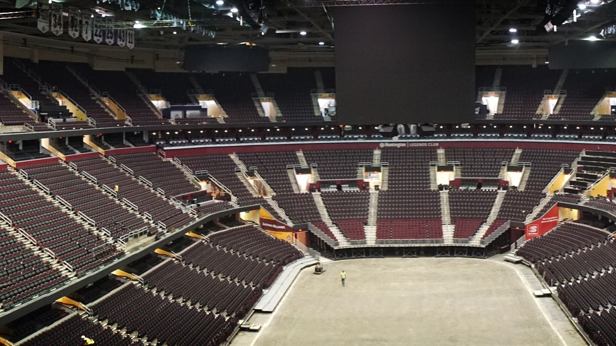 Only 300 fans allowed at Rocket Mortgage FieldHouse for Cleveland Cavaliers games because of Covid