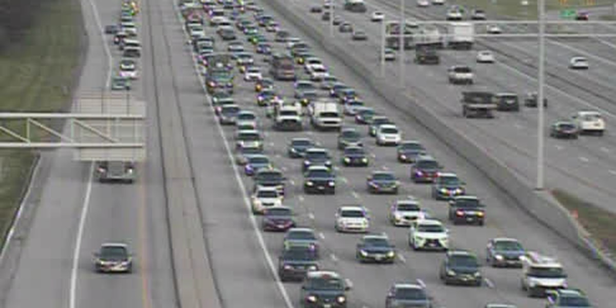 Interstate 480 resurfacing project construction causes headache for drivers during morning commute