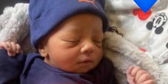 Richmond Heights police release adorable picture of baby delivered by officer on the side of the road