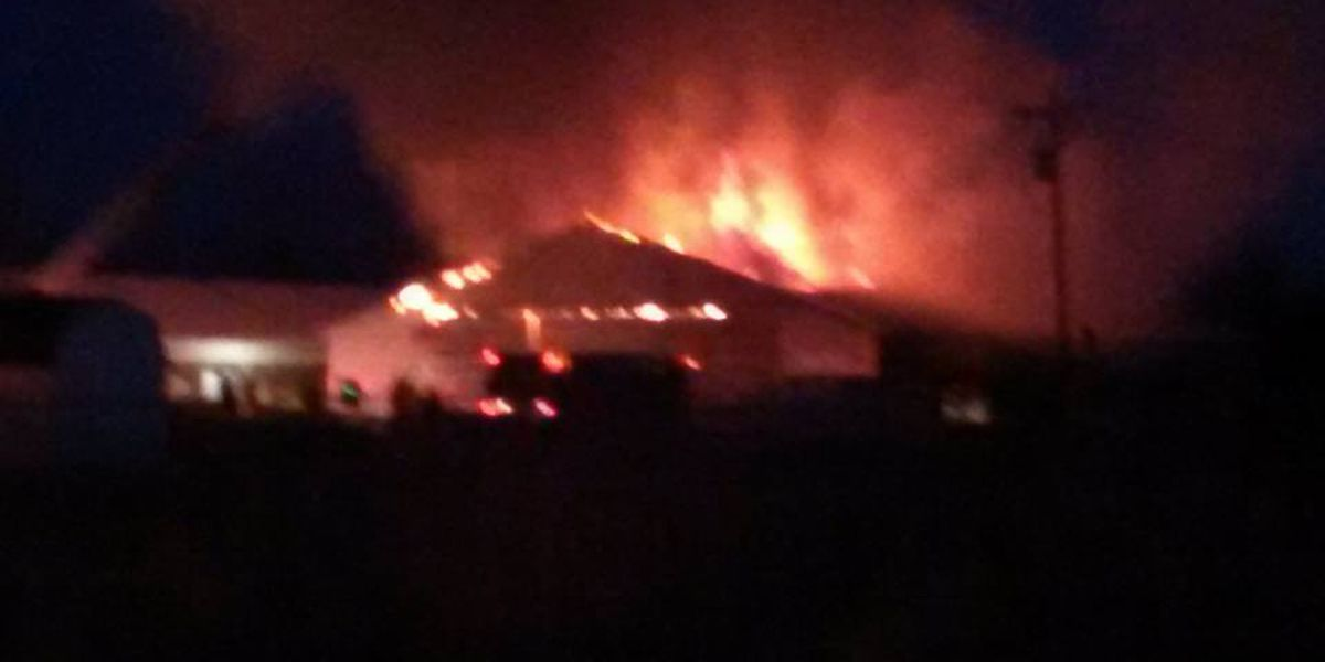 Crews contain massive fire at Carter Lumber in Lorain County