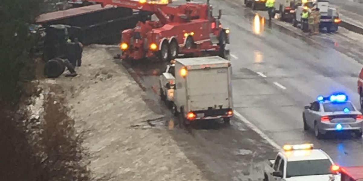 Section of I-77 in Bath Township reopens after earlier accident