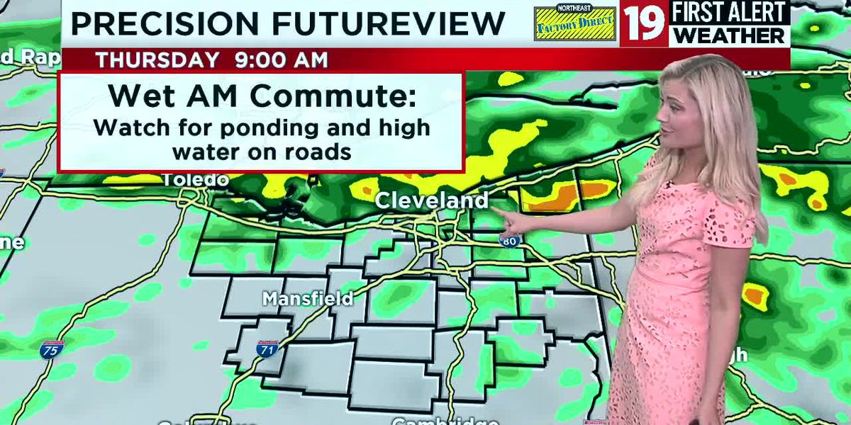 19 First Alert Weather Day: Incoming heavy rains pose flooding threat on Thursday