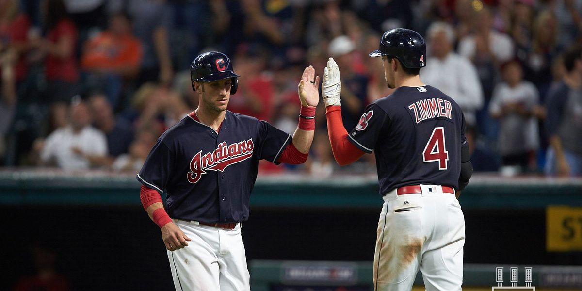Zimmer homers, drives in go-ahead run as Indians beat Angels
