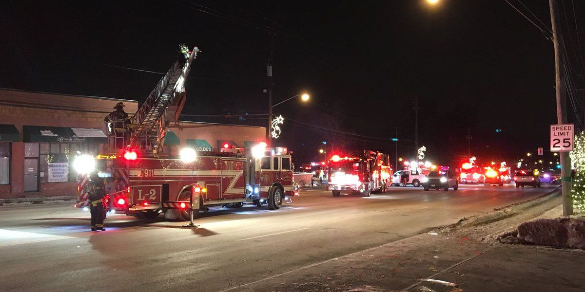 Fire heavily damages Strongsville shopping plaza