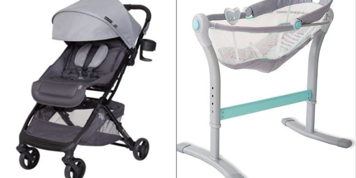 Consumer Product Safety Commission warning parents about potentially hazardous baby products
