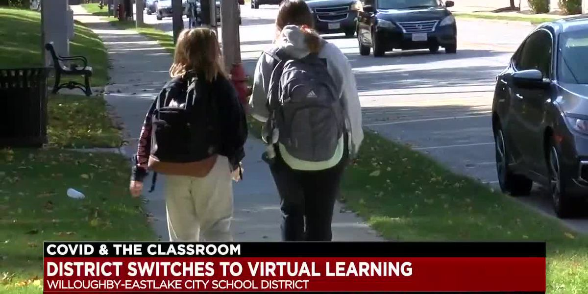 Willoughby-Eastlake schools move to virtual learning until further notice after rise in COVID case