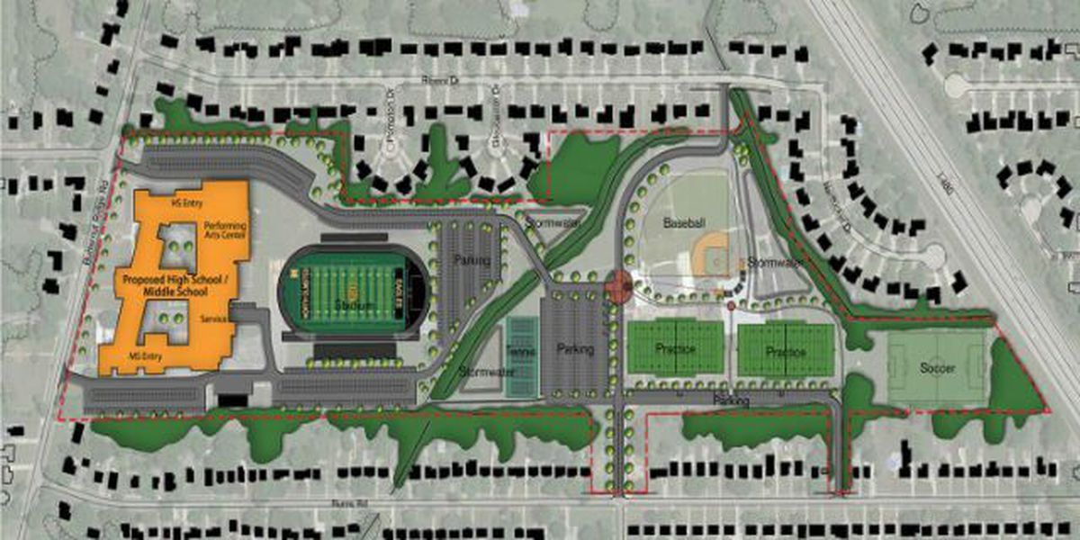 Plans unveiled for new North Olmsted school complex