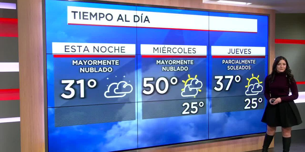 Las temperaturas alcanzan los 50 grados el miercoles