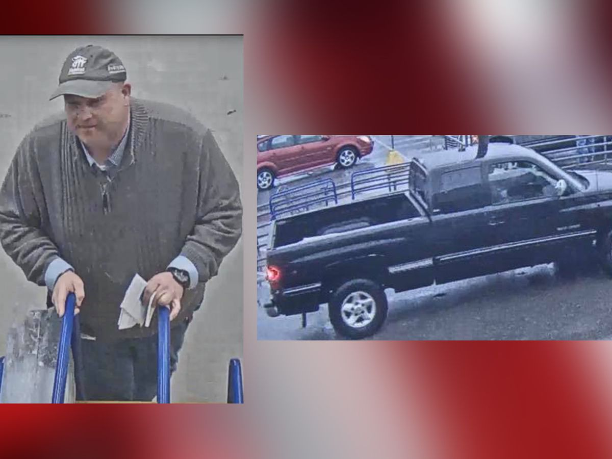 Man caught on camera shoplifting from several Lowe's stores in Ohio (photos)