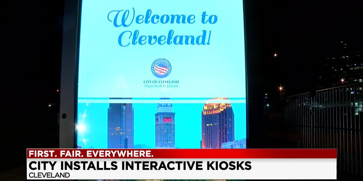 New interactive kiosks in downtown Cleveland expanding resources to those that need it most