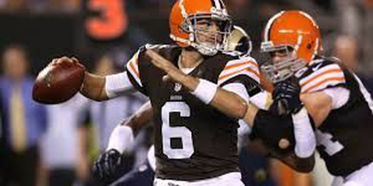 Hoyer listed as starting QB on Browns' depth chart