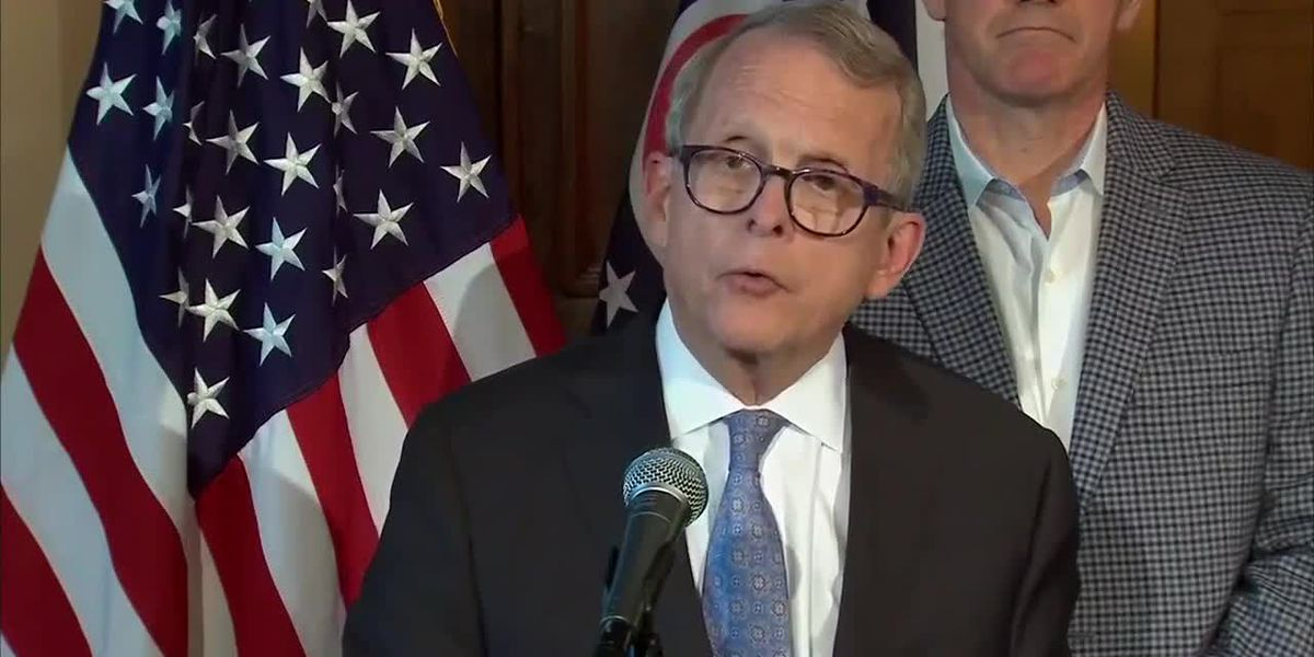 Gov. DeWine addresses gun violence, mental health following Dayton shooting at Ohio Statehouse