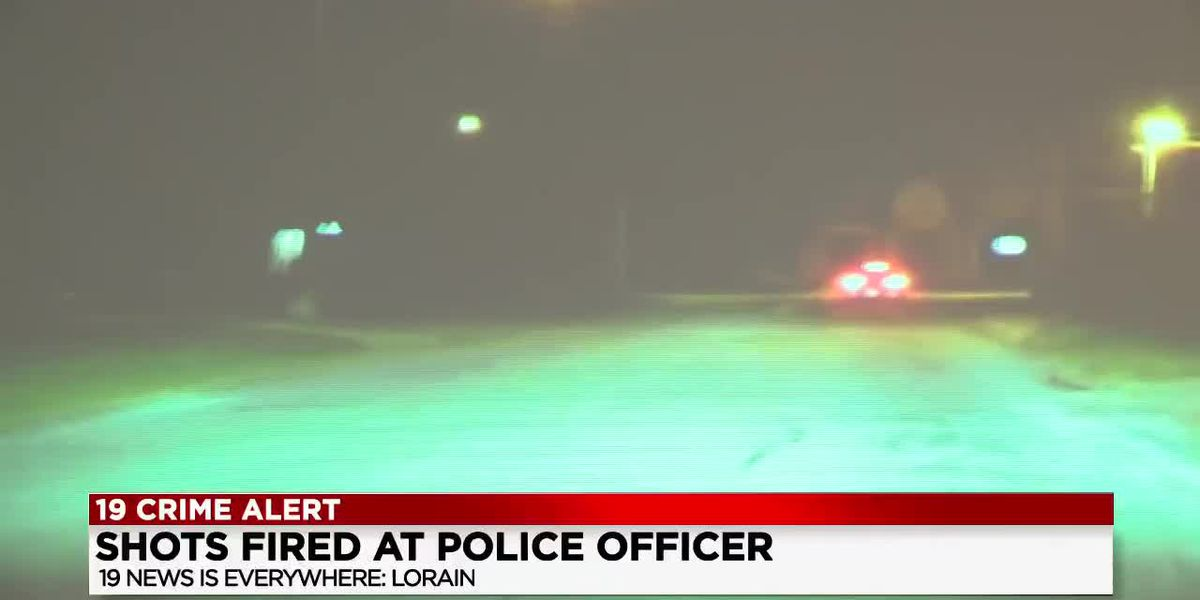 2 suspects in custody after a Lorain Police officer was shot at during traffic stop