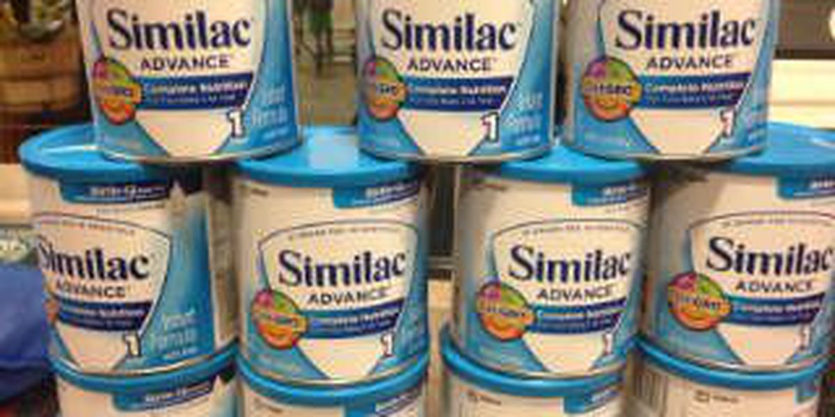 Woman arrested for stealing baby formula