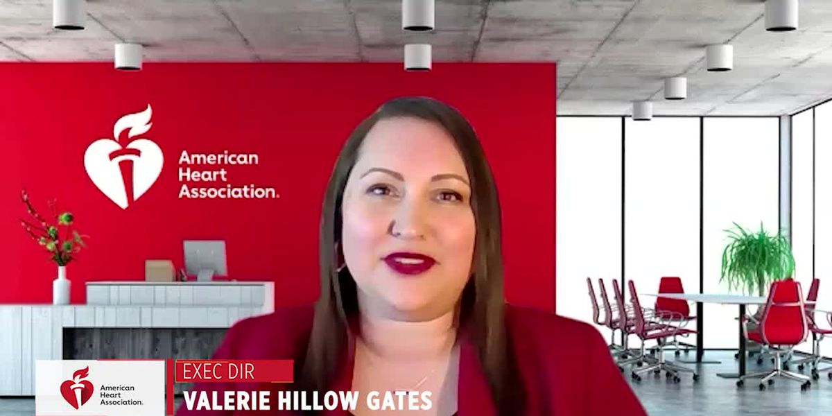 American Heart Association - Go Red with Valerie Hillow Gates